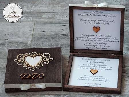 Zaproszenie Dla Rodziców Chrzestnych ślub Z Inicjałami