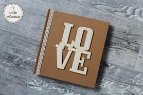 Księga Gości - rustykalna LOVE