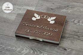 Pudełko na czekoladki Merci - Prezent Ślubny