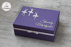 Pudełko na Skarby Maluszka - baletnice