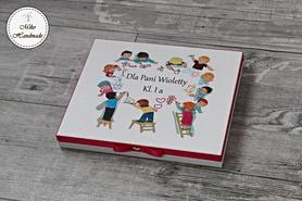 Pudełko na czekoladki Merci - Dzień Nauczyciela