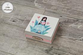 Pudełko dla dziewczynki - calineczka