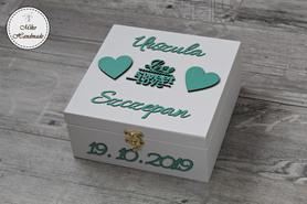 Pudełko na prezent ślubny - LoveSweetLove