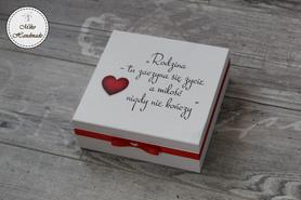 Pudełko dla Mamy - z Twoim napisem