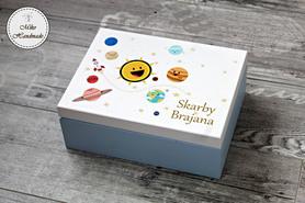 Pudełko na pamiątki z dzieciństwa - różne wzory