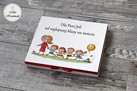 Pudełko na czekoladki Merci - Pani z dziećmi