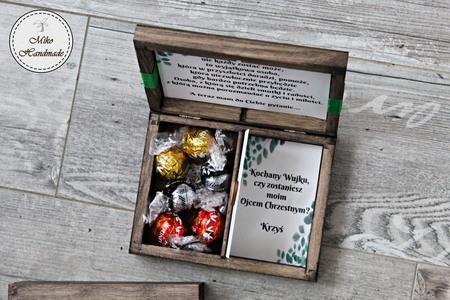 Prośba o zostanie Ojcem Chrzestnym - pudełko z przegródką (4)