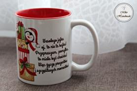 Kubek Świąteczny - Prezenty z życzeniami