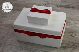 Komplet pudełek ślubnych - różne kolory
