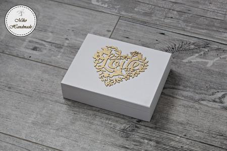 Pudełko na obrączki - Wasza Historia Miłosna (2)