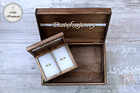 Komplet pudełek ślubnych - rustykalny (Mr&Mrs) (3)