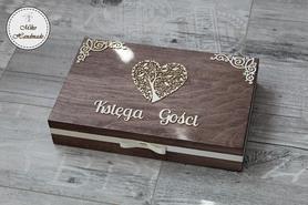 Księga Gości w pudełku - rustykalna - Ankieta