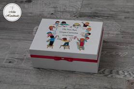 Pudełko dla Nauczyciela - rysujące dzieci
