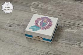 Pudełko dla dziewczynki - syrenka