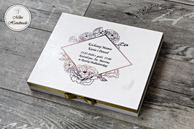 Prośba o Błogosławieństwo - złota ramka - pudełko na Merci