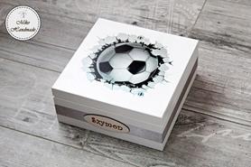 Pudełko dla piłkarza - piłka