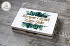 Księga Gości w pudełku - Tropikalne liście (1)