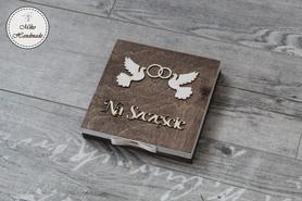 Pudełko na zdrapki - prezent ślubny