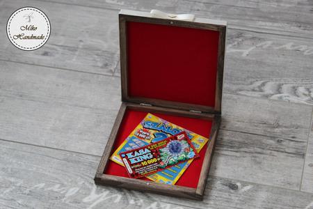 Pudełko na zdrapki - prezent ślubny (2)