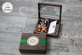 Prośba o zostanie Matką Chrzestną - pudełko z przegródką