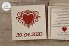 Pudełko z prośbą o błogosławieństwo z datą (2)