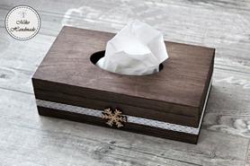 Chustecznik - brąz (płatek śniegu)