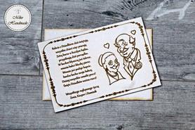 Naturalna kartka na Dzień Babci i Dziadka