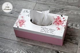 Chustecznik - różowe kwiaty