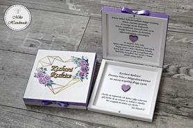 Prośba o Błogosławieństwo - fioletowe róże