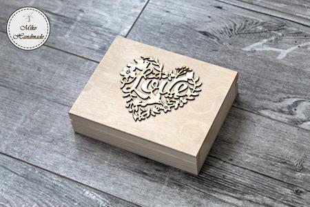 Pudełko na obrączki - myśliwy (2)