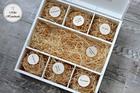 Pudełko na prezent ślubny (Duże) - Różowe kwiaty (5)