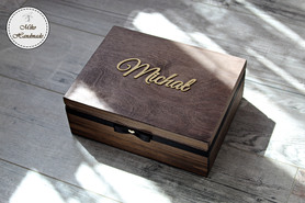 Pudełko z podziękowaniem dla Świadka - Imię
