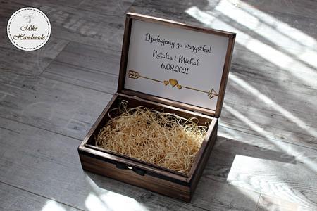 Pudełko z podziękowaniem dla Świadka - Imię (2)