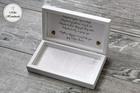 Pudełko na pieniądze dla Pary Młodej - liście (2)