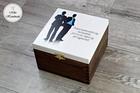 Pudełko z podziękowaniem dla Świadka - Best Man (1)