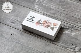 Pudełko na pieniądze dla Pary Młodej - ptaszki