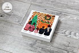 Pudełko z życzeniami Świątecznymi (Rodzina) - Wybierz swój wygląd