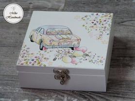 Pudełko na pamiątkę Ślubu