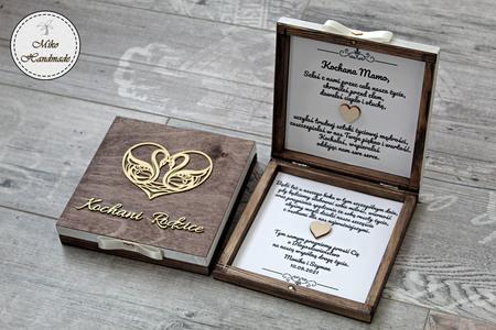 Pudełko z prośbą o błogosławieństwo-brązowe Kochani Rodzice (1)