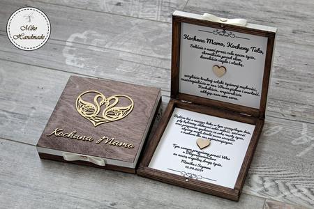 Pudełko z prośbą o błogosławieństwo-brązowe Kochani Rodzice (3)